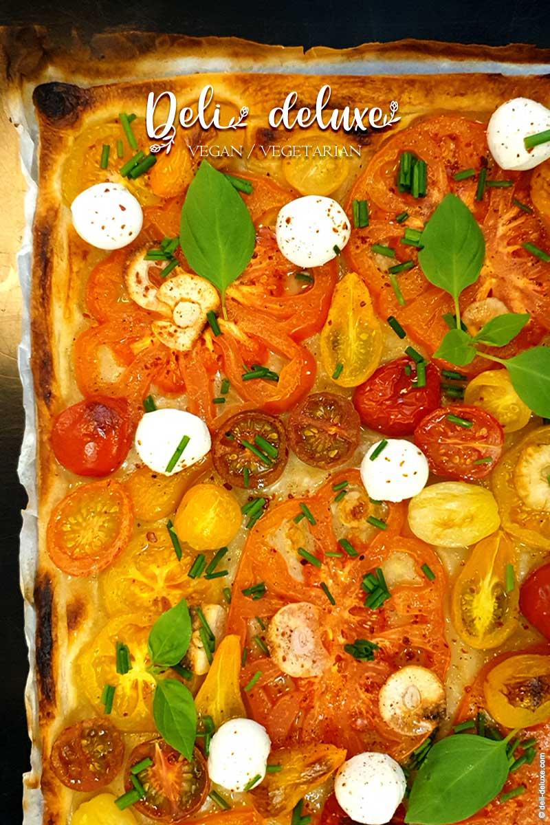 Pizza di pasta sfoglia 🥕