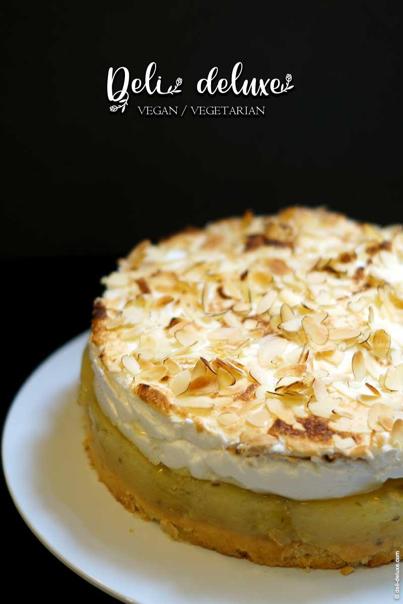 schnelle Stachelbeer Baiser Torte