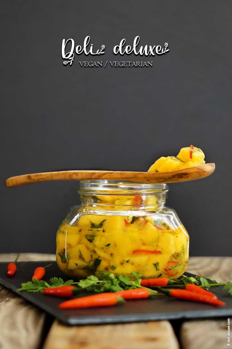 Schnelles Mango Pickles 🥕🥕