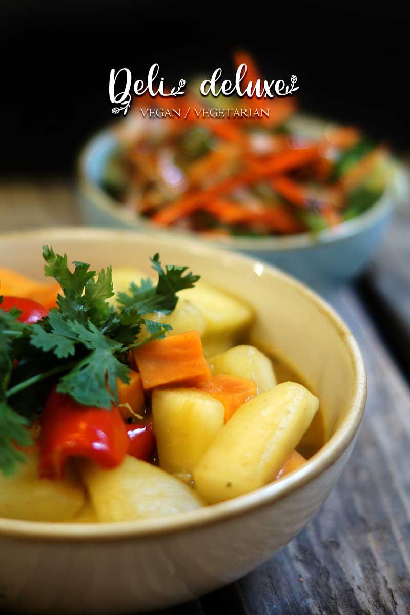Ayurvedisches Schmorgurken Curry 🥕🥕