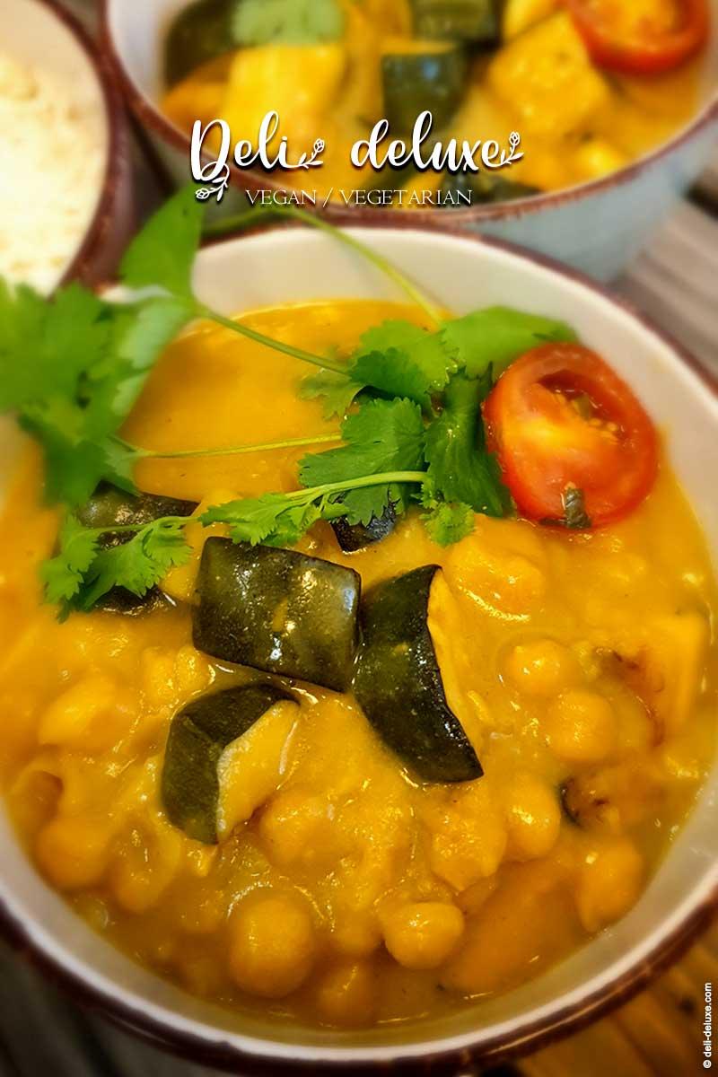 Kichererbsen Zucchini Curry 🥕🥕