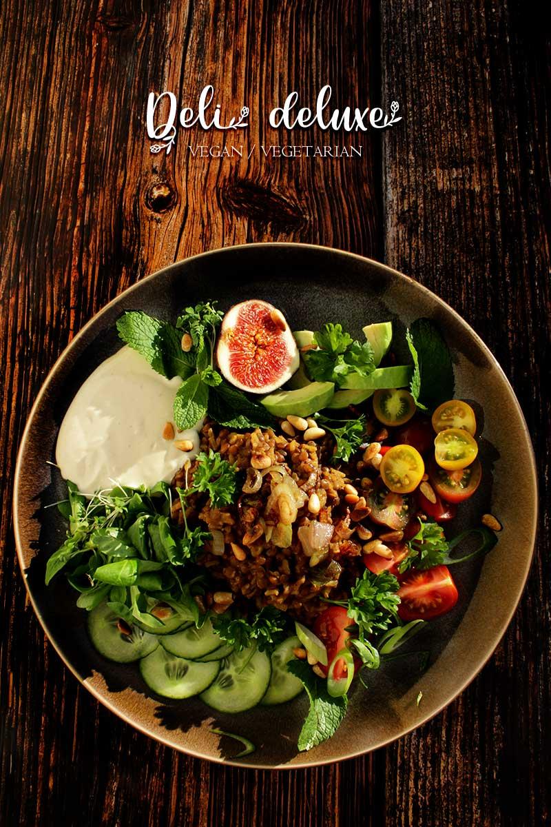 Mujadara – Libanesischer vegane Linsen und Reis 🥕🥕